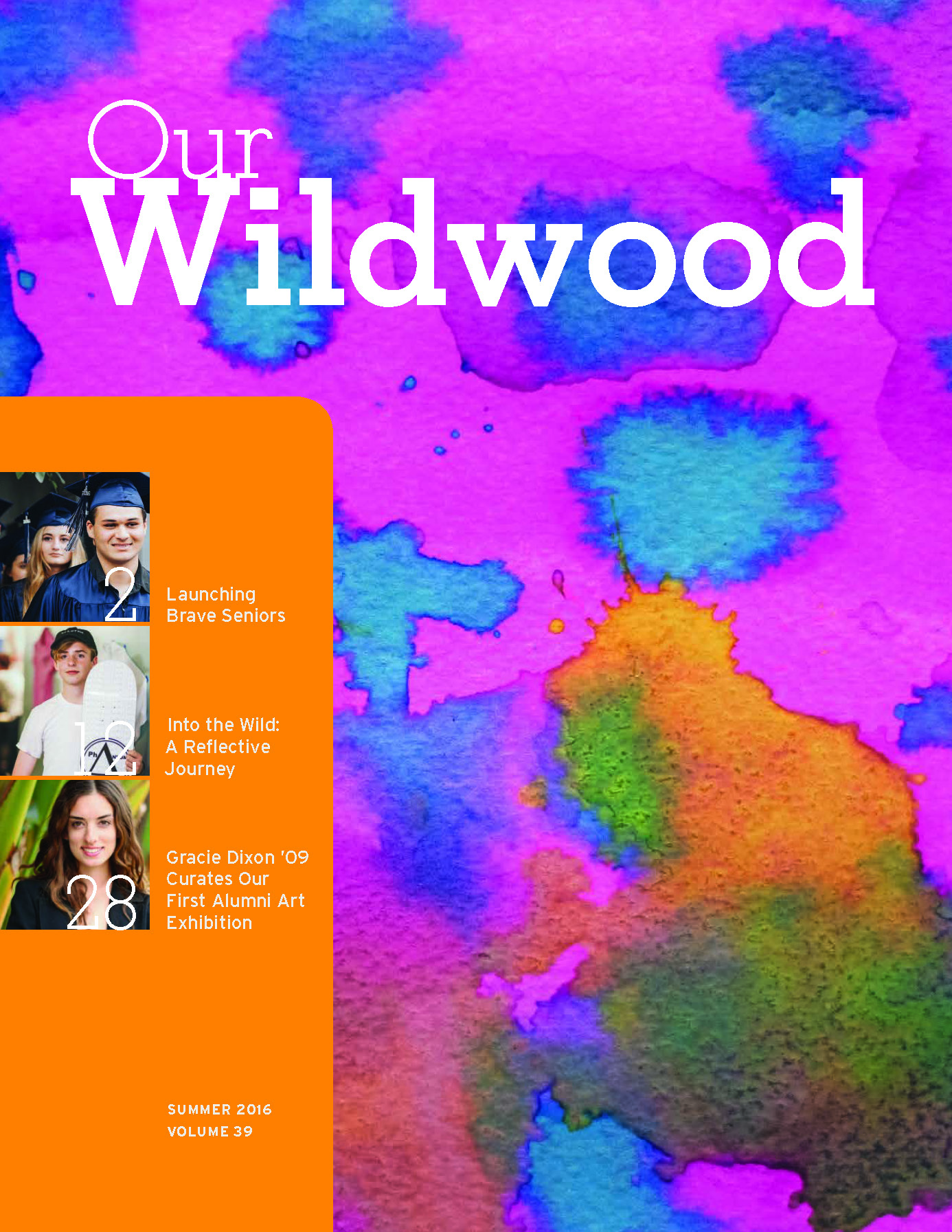 Wildwood School, Our Wildwood Volume 39